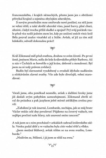 Náhled Zikmund Lucemburský - Tajné vzpomínky, sepsané po vzoru císaře Karla, mého milovaného otce