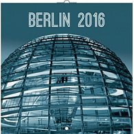 Kalendář nástěnný 2016 - Berlín, poznámkový  30 x 30 cm