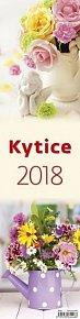 Kalendář nástěnný 2018 - Kytice