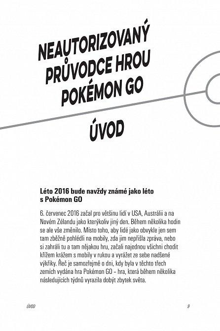 Náhled POKEMON GO: Neautorizovaný průvodce hrou