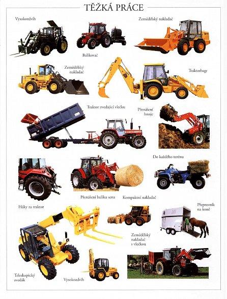 Náhled Traktory - Samolepková knížka