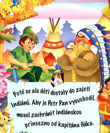 Náhled Skládačková knížka - Petr Pan