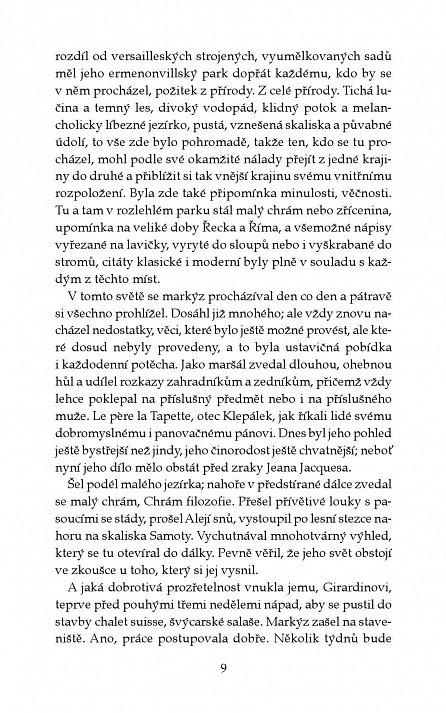 Náhled Bláznova moudrost aneb Smrt a slavné zmrtvýchvstání Jeana Jacquesa Rousseaua