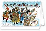 Kalendář stolní 2016 - Staročeský kalendář, 2016, 23,1 x 14,5 cm