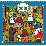 Kalendář nástěnný 2016 - Josef Lada - V lese,  48 x 46 cm