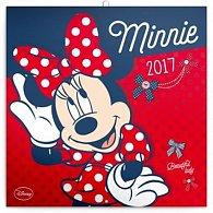 Kalendář poznámkový 2017 - Minnie