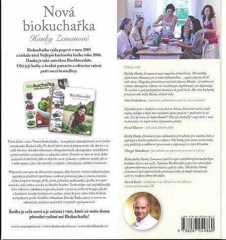 Náhled Nová biokuchařka Hanky Zemanové - 80 nových receptů!
