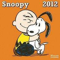 Kalendář nástěnný 2012 - Snoopy, 30 x 60 cm