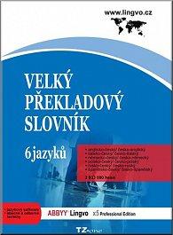 Velký překladový slovník - 6 jazyků A,I,N,Pl,R,Š - CD-ROM