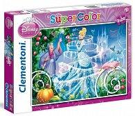 Puzzle Supercolor Popelka 2x20 dílků