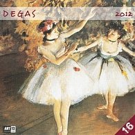 Kalendář nástěnný 2012 - Edgar Degas, 30 x 60 cm