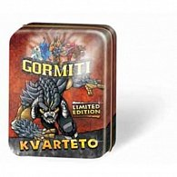 Kvarteto Gormiti - plechová krabička