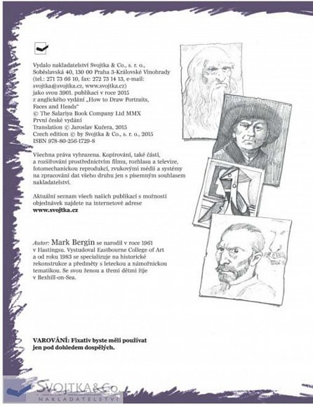 Náhled Jak kreslit - Portrét