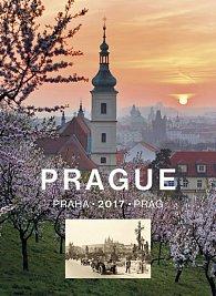 Kalendář nástěnný 2017 - Praha - Prague - Prag