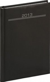 Diář 2013 - Balacron - Týdenní A5 Praktik, černá, 15 x 21 cm
