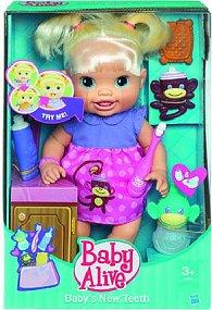 Baby Alive panenka s rostoucími zoubky