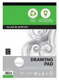 Daler - Rowney SIMPLY skicák ECO kreslení  A4, 120 g / m2, 50 listů
