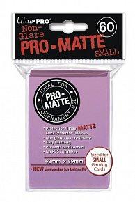 UltraPRO: 60 DP PRO Matte obaly malé  - růžová
