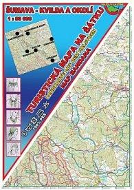 Šumava - Kvilda Šátek s mapou