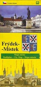 Frýdek - Místek mapa města