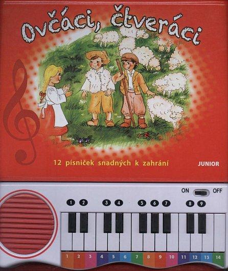 Náhled Ovčáci, čtveráci - 12 písniček snadných k zahrání