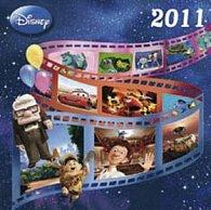 Pixar Films 2011 - nástěnný kalendář