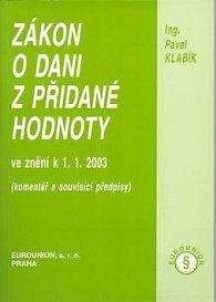 Zákon o dani z přidané hodnoty 2003