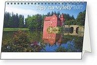 Kalendář stolní  2012 - Tipy na výlety, 23,1 x 14,5 cm