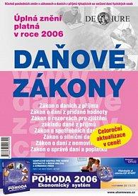 Daňové zákony 2006