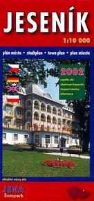 Jeseník 1:10T plán města 2002