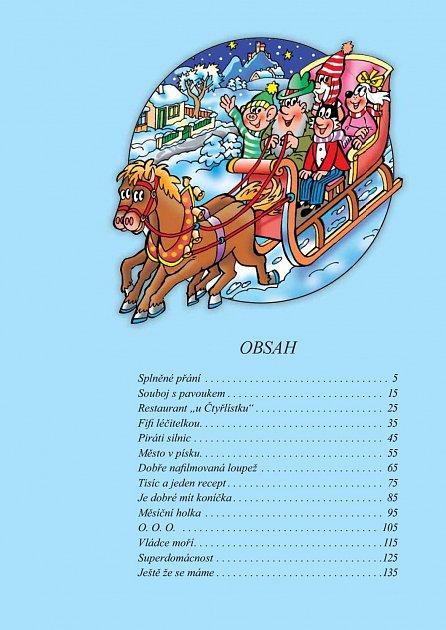 Náhled Zábavné příběhy Čtyřlístku 1998