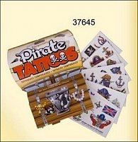Tetování krabička piráti