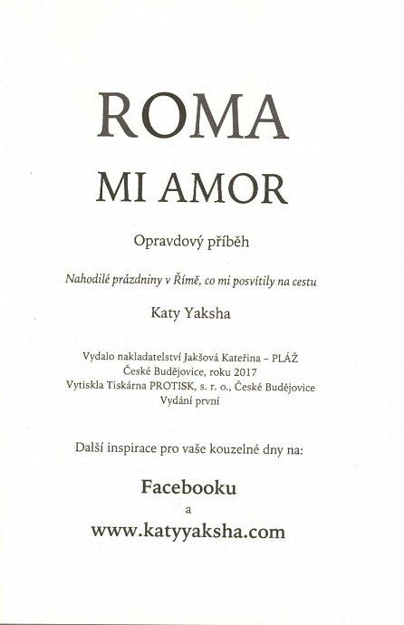 Náhled ROMA MI AMOR - Nahodilé prázdniny v Římě, co mi posvítily na cestu