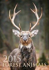 Kalendář nástěnný 2015 - Forest Animals