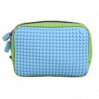Pixelová Příruční Taška Zelená/Modrá
