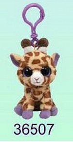 Plyš očka přívěšek žirafa