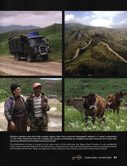 Náhled Arménie země hor, klášterů a vína / Armenia the Country of Mountains Monasteries and Wine