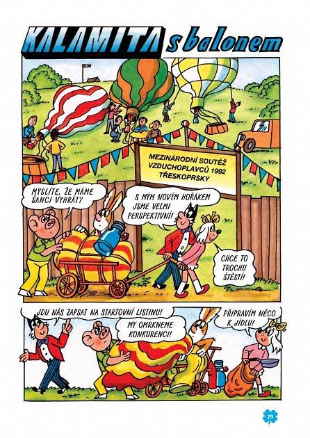 Náhled Zlaté příběhy Čtyřlístku - 10. kniha z let 1992 až 1993