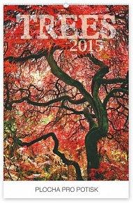 Kalendář 2015 - Stromy Praktik - nástěnný s prodlouženými zády