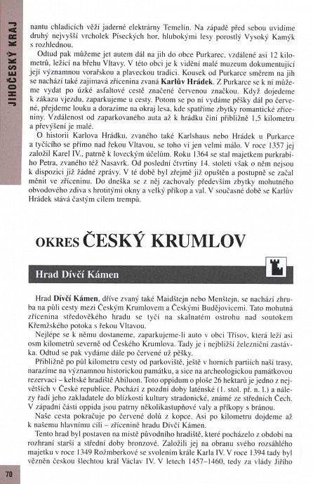Náhled Rozhledny a ztracené hrady ČR 1. západ