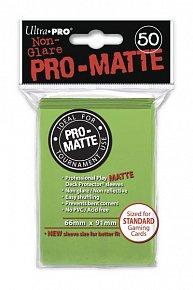 UltraPRO: 50 DP PRO Matte obaly - limetková zelená