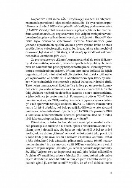 """Náhled Falešné hranice - Akce """"Kámen"""". Oběti a strůjci nejutajovanějších zločinů StB 1948-1951"""