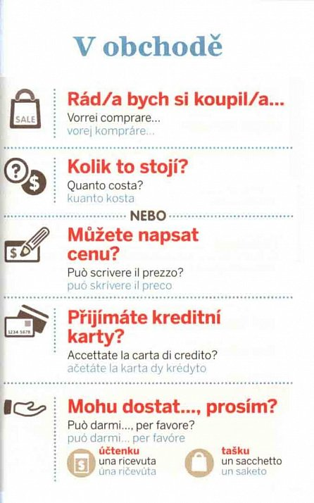 Náhled Italština - konverzace a slovník
