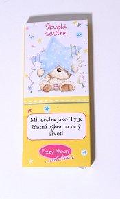 """Čokoláda s Fizzy Moonem """"Skvělá sestra"""""""