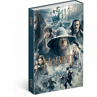 Diář 2016 - Hobbit,  10,5 x 15,8 cm