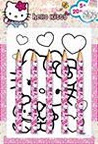 Hello Kitty - Maxi pastelky - omalovánky