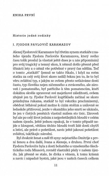 Náhled Bratři Karamazovovi