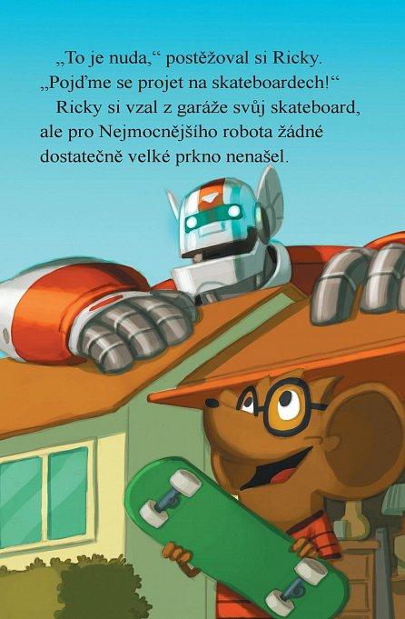 Náhled Nejmocnější robot Rickyho Ricotty vs. mechanické opice z Marsu