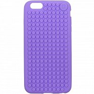 iPhone 6 plus Pixel Case fialová