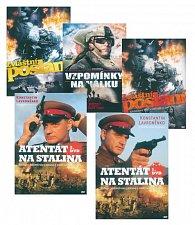 Komplet válečných filmů (Atentát na stalina 1,2 Zvláštní poslání 1,2, Vzpomínky na válku)